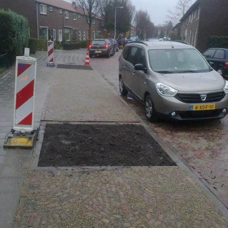 Herinrichting straat Deventer